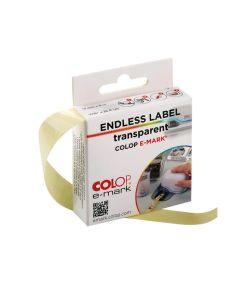 COLOP e-mark® Endlosettiketten - transparent
