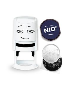 NIO Stamp with Ink Pad - NOBLE BLUE