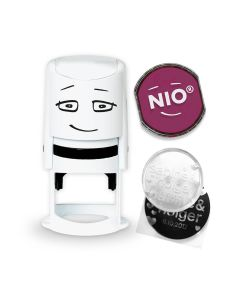 NIO Stamp with Ink Pad - COZY RED