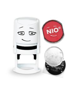 NIO Stamp with Ink Pad - BRAVE RED