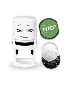 NIO Stamp with Ink Pad - SMOOTH GREEN