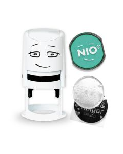 NIO Stamp with Ink Pad - FRESH MINT