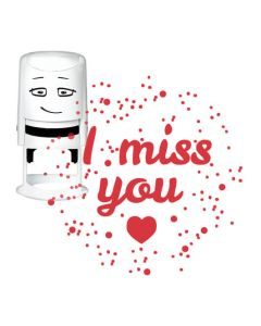 NIO Standardmotiv - I MISS YOU - HEART IN SPACE