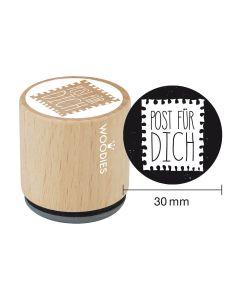 Woodies Motivstempel - Post für Dich