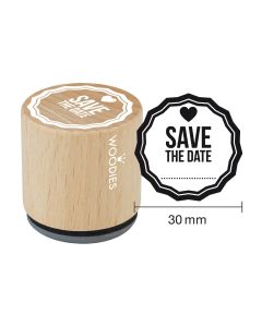 Woodies Motivstempel - Save the date