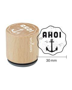 Woodies Motivstempel - Ahoi