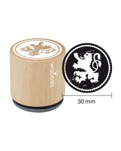Woodies Motivstempel - Bayern - Bayerischer Löwe