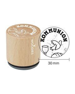Woodies Motivstempel - Kommunion