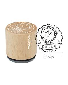 Woodies Motivstempel - Danke