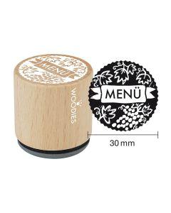 Woodies Motivstempel - Menü