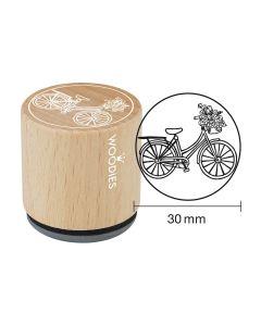 DE-Woodies Motivstempel - Fahrrad - FR-Tampon Woodies - Vélo