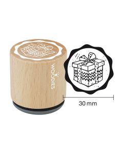 DE-Woodies Motivstempel - Geschenk - FR-Tampon Woodies - Cadeau