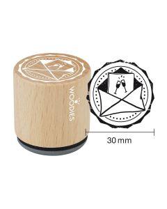 Woodies Rubber Stamp - Envelope