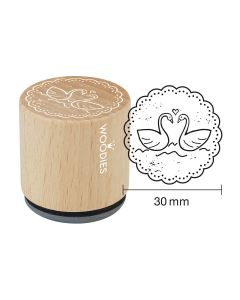 Woodies Rubber Stamp - Swanes