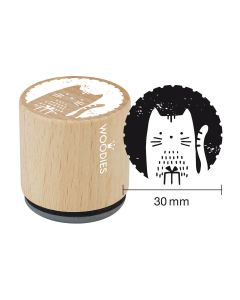 Woodies Rubber Stamp - Cat 2