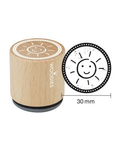 Woodies Rubber Stamp - Sun 2