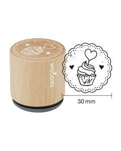Woodies Rubber Stamp - Tartlet 2