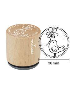 Woodies Rubber Stamp - Bird