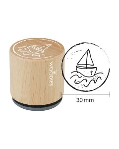 Woodies Motivstempel - Boot