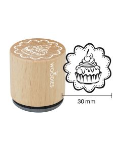 Woodies Rubber Stamp - Tartlet 3