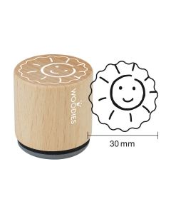 Woodies Rubber Stamp - Sun