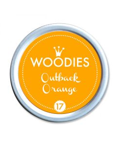 Woodies Stamp Pad - Outback Orange