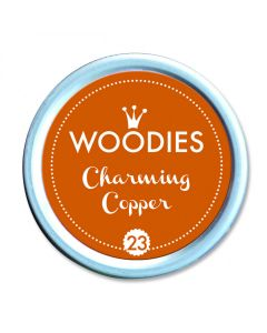 Woodies Stamp Pad - Charming Copper