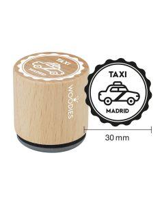Sello Woodies - Madrid - Taxi
