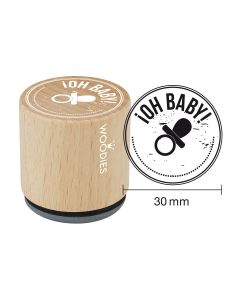 Sello Woodies - ¡OH BABY!
