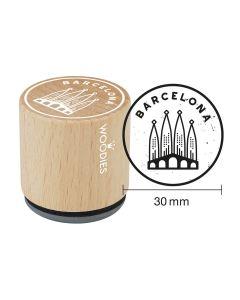Sello Woodies - Barcelona - Sagrada Familia