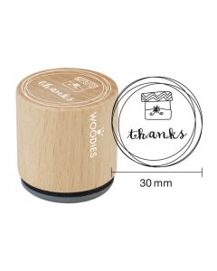 Woodies Rubber Stamp - Thanks