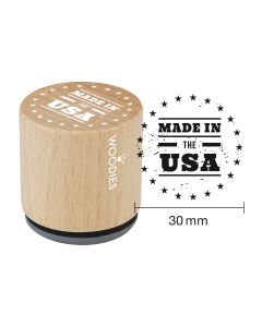 Woodies Rubber Stamp - New York - Made in the USA