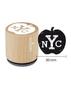 Woodies Rubber Stamp - New York - NYC ... Apple