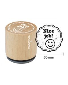 Woodies Rubber Stamp - Nice Job!