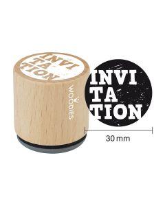 Tampon Woodies - Invitation