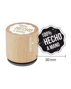 Sello Woodies - 100% hecho a mano