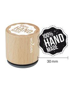 Woodies Rubber Stamp - 100% HANDMADE