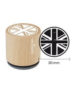 Woodies Rubber Stamp - London - Union Jack