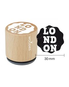 Woodies Rubber Stamp - London - LONDON