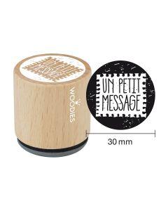 Tampon Woodies - Un petit message