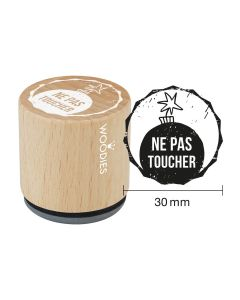 Tampon Woodies - Pas toucher