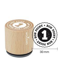 Tampon Woodies - 1 bon point