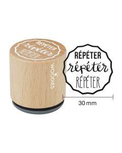 Tampon Woodies - RÉPÉTER répéter RÉPÉTER