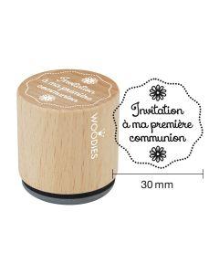 Tampon Woodies - Invitation à ma première communion