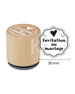 Tampon Woodies - Invitation au mariage