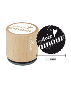 Tampon Woodies - Avec amour