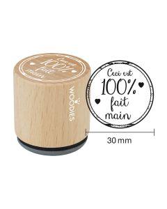 Tampon Woodies - Ceci est 100% fait main