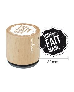 Tampon Woodies - 100% fait main