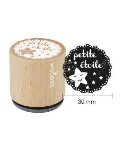 Tampon Woodies - petite étoile