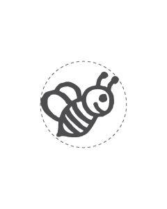 Mini Woodies Rubber Stamp - Bee